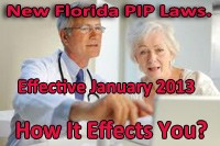 New Florida PIP Laws